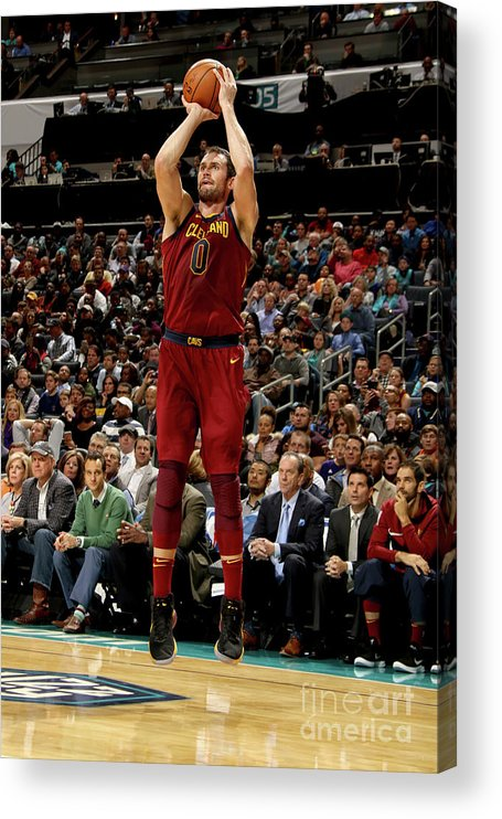 Nba Pro Basketball Acrylic Print featuring the photograph Kevin Love by Brock Williams-smith
