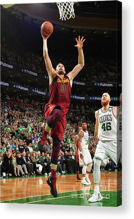 Playoffs Acrylic Print featuring the photograph Kevin Love by Jesse D. Garrabrant