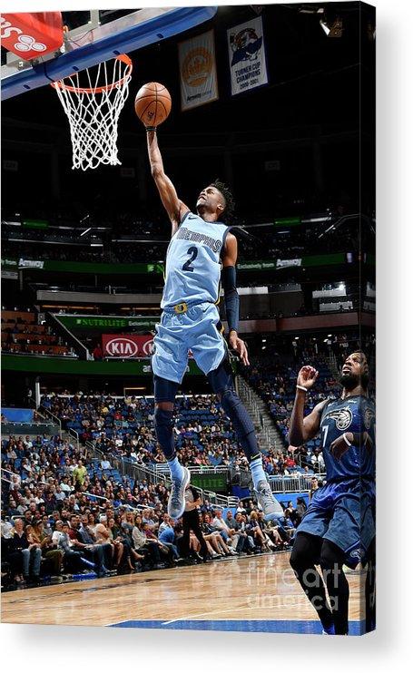 Nba Pro Basketball Acrylic Print featuring the photograph Kobi Simmons by Fernando Medina