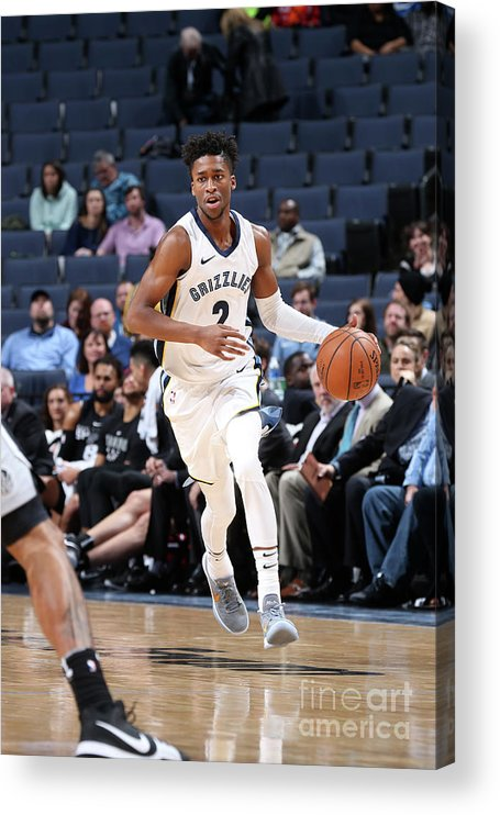 Nba Pro Basketball Acrylic Print featuring the photograph Kobi Simmons by Joe Murphy