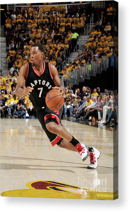 People Acrylic Print featuring the photograph Kyle Lowry by David Liam Kyle
