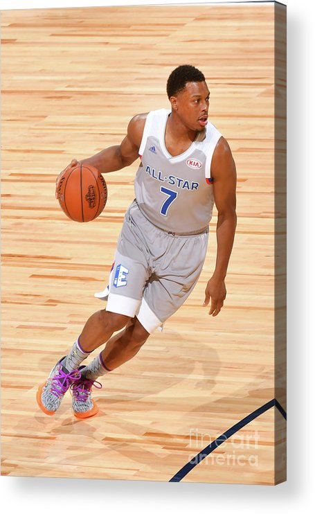 People Acrylic Print featuring the photograph Kyle Lowry by Jesse D. Garrabrant