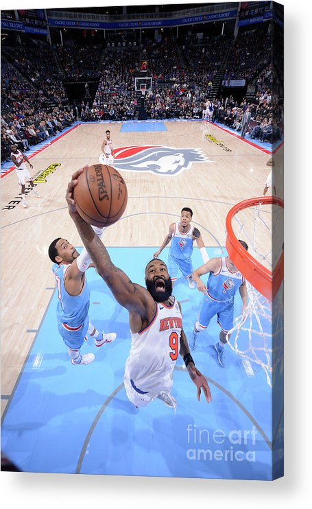 Nba Pro Basketball Acrylic Print featuring the photograph Kyle O'quinn by Rocky Widner