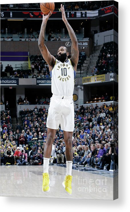 Nba Pro Basketball Acrylic Print featuring the photograph Kyle O'quinn by Ron Hoskins