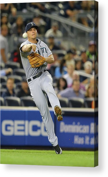 American League Baseball Acrylic Print featuring the photograph Kyle Seager by Al Bello