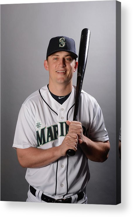 Media Day Acrylic Print featuring the photograph Kyle Seager by Norm Hall