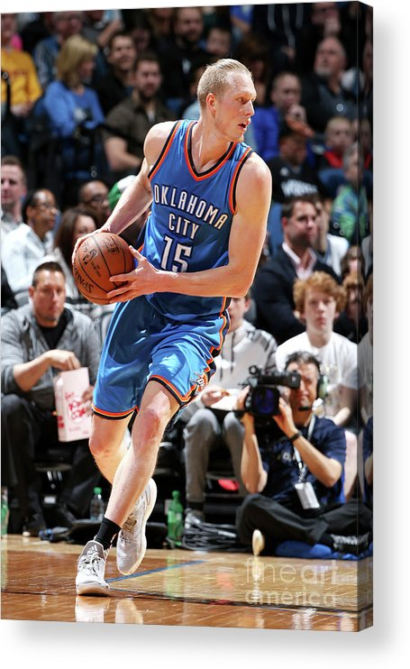 Nba Pro Basketball Acrylic Print featuring the photograph Kyle Singler by David Sherman