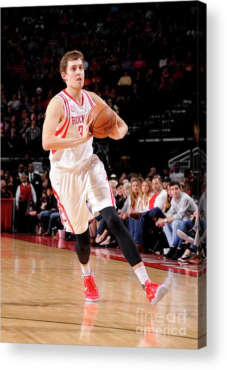 Nba Pro Basketball Acrylic Print featuring the photograph Kyle Wiltjer by Bill Baptist