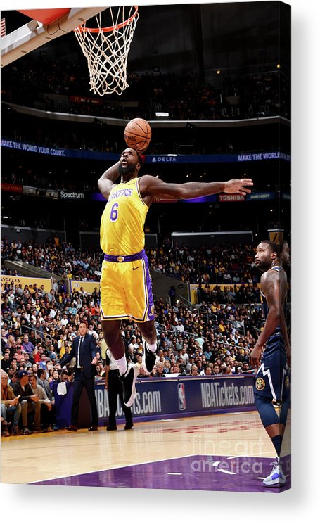Nba Pro Basketball Acrylic Print featuring the photograph Lance Stephenson by Andrew D. Bernstein
