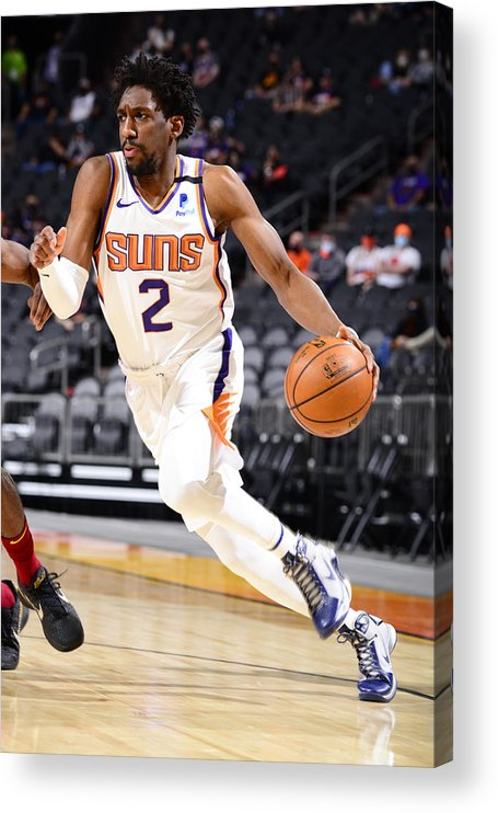 Nba Pro Basketball Acrylic Print featuring the photograph Langston Galloway by Barry Gossage