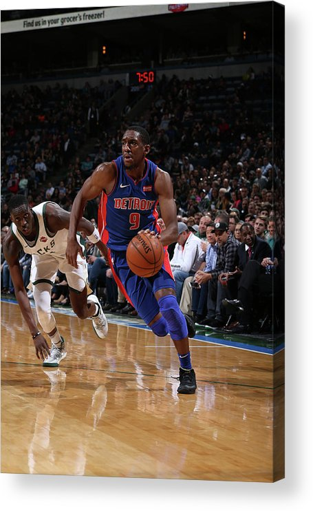 Nba Pro Basketball Acrylic Print featuring the photograph Langston Galloway by Gary Dineen