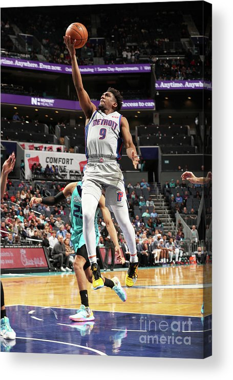 Nba Pro Basketball Acrylic Print featuring the photograph Langston Galloway by Kent Smith