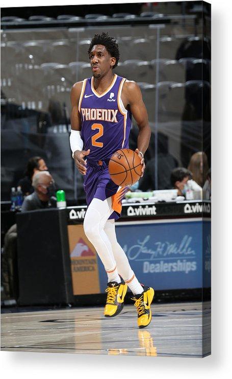 Nba Pro Basketball Acrylic Print featuring the photograph Langston Galloway by Melissa Majchrzak
