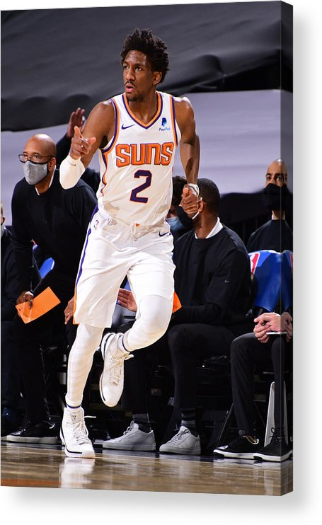 Nba Pro Basketball Acrylic Print featuring the photograph Langston Galloway by Michael Gonzales