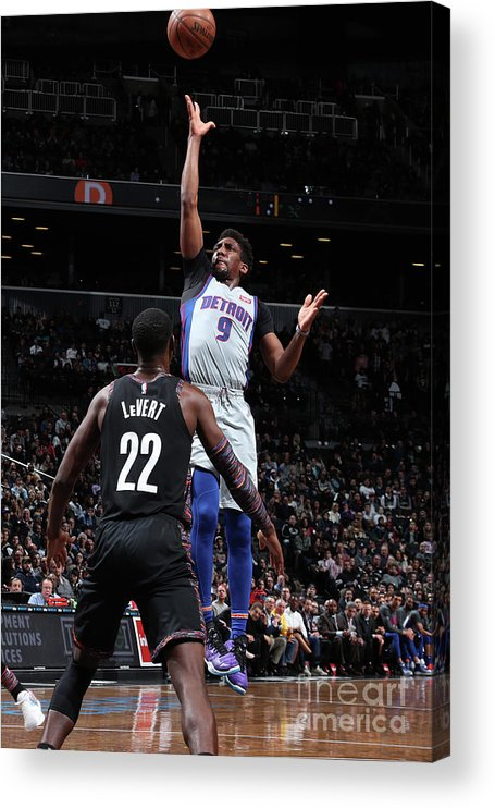 Nba Pro Basketball Acrylic Print featuring the photograph Langston Galloway by Nathaniel S. Butler