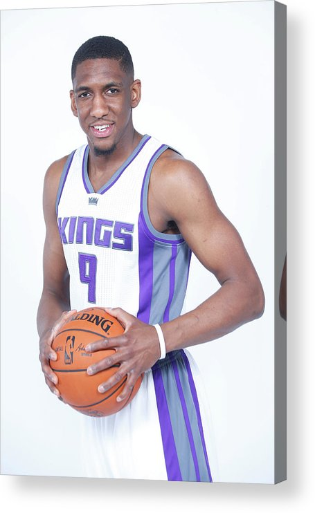 Nba Pro Basketball Acrylic Print featuring the photograph Langston Galloway by Rocky Widner
