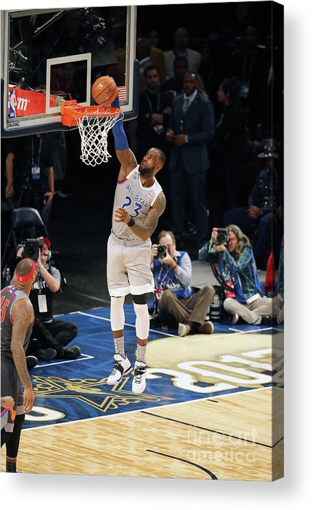 Event Acrylic Print featuring the photograph Lebron James by Bruce Yeung