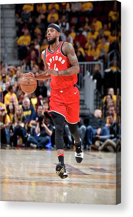 Playoffs Acrylic Print featuring the photograph Lorenzo Brown by David Liam Kyle