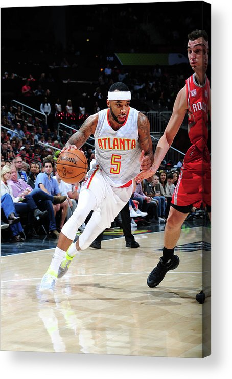 Atlanta Acrylic Print featuring the photograph Malcolm Delaney by Scott Cunningham