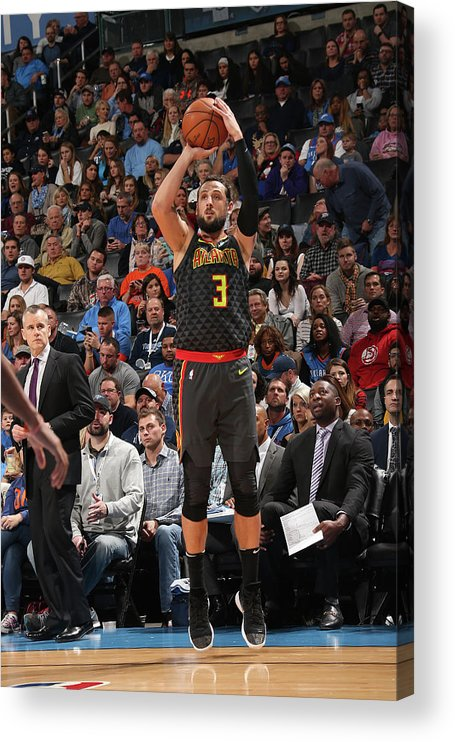 Nba Pro Basketball Acrylic Print featuring the photograph Marco Belinelli by Layne Murdoch