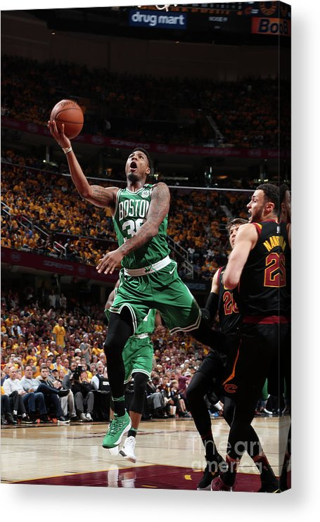 Playoffs Acrylic Print featuring the photograph Marcus Smart by Nathaniel S. Butler
