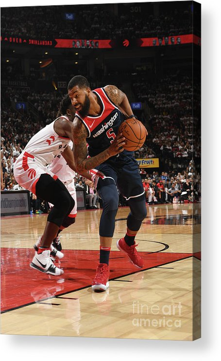 Playoffs Acrylic Print featuring the photograph Markieff Morris by Ron Turenne