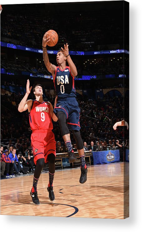 Event Acrylic Print featuring the photograph Marquese Chriss by Andrew D. Bernstein