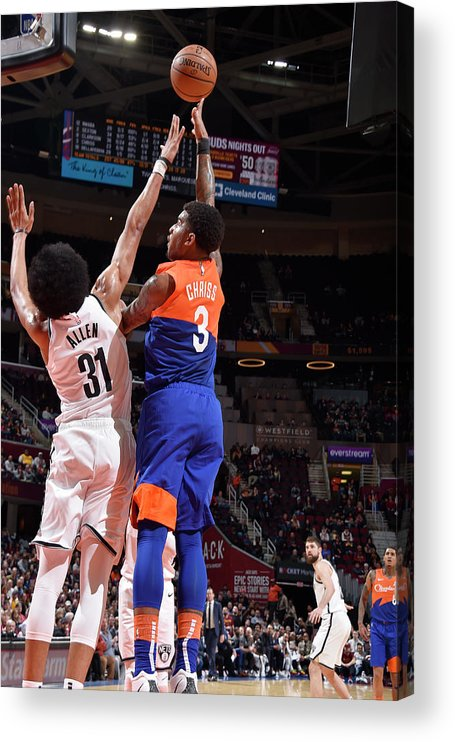 Nba Pro Basketball Acrylic Print featuring the photograph Marquese Chriss by David Liam Kyle
