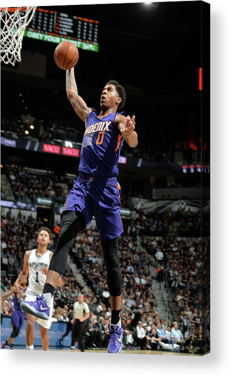 Nba Pro Basketball Acrylic Print featuring the photograph Marquese Chriss by Mark Sobhani