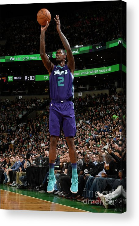 Nba Pro Basketball Acrylic Print featuring the photograph Marvin Williams by Brian Babineau