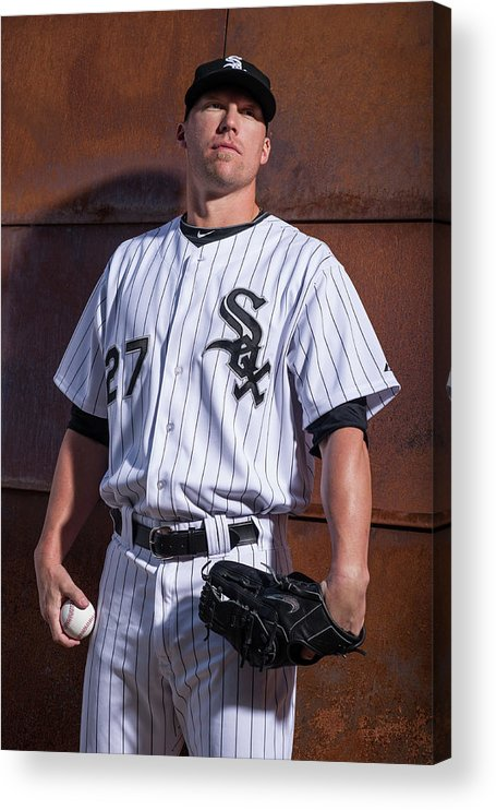 Media Day Acrylic Print featuring the photograph Matt White by Rob Tringali