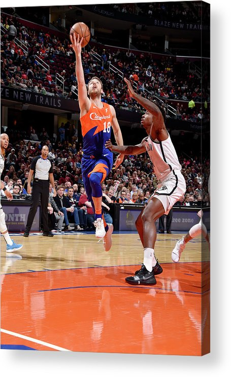 Nba Pro Basketball Acrylic Print featuring the photograph Matthew Dellavedova by David Liam Kyle