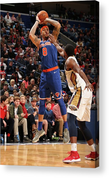 Smoothie King Center Acrylic Print featuring the photograph Michael Beasley by Layne Murdoch