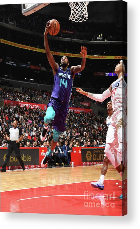 Nba Pro Basketball Acrylic Print featuring the photograph Michael Kidd-gilchrist by Andrew D. Bernstein