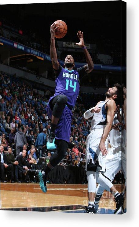 Nba Pro Basketball Acrylic Print featuring the photograph Michael Kidd-gilchrist by David Sherman