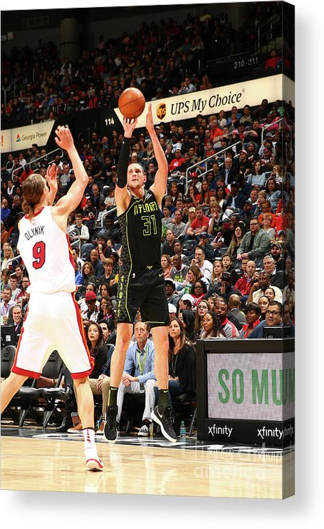 Atlanta Acrylic Print featuring the photograph Mike Muscala by Kevin Liles