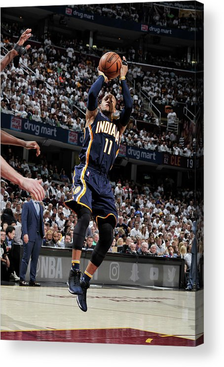 Playoffs Acrylic Print featuring the photograph Monta Ellis by David Liam Kyle