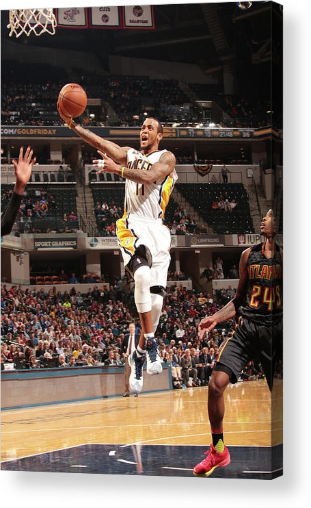 Nba Pro Basketball Acrylic Print featuring the photograph Monta Ellis by Ron Hoskins
