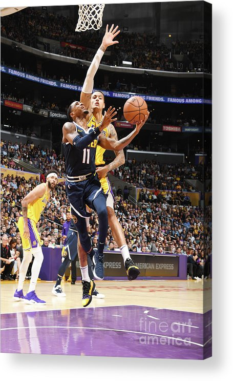 Nba Pro Basketball Acrylic Print featuring the photograph Monte Morris by Andrew D. Bernstein