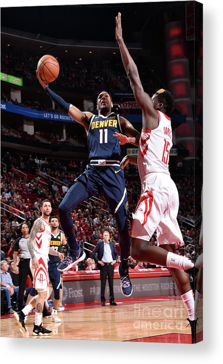 Nba Pro Basketball Acrylic Print featuring the photograph Monte Morris by Bill Baptist