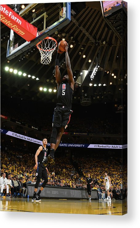 Playoffs Acrylic Print featuring the photograph Montrezl Harrell by Noah Graham