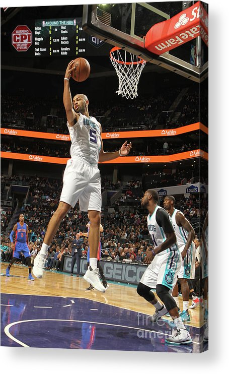 Nicolas Batum Acrylic Print featuring the photograph Nicolas Batum by Brock Williams-smith