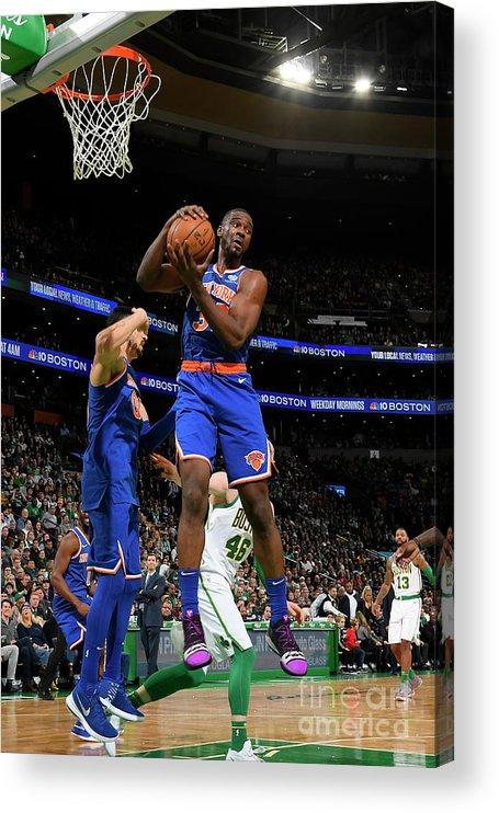 Nba Pro Basketball Acrylic Print featuring the photograph Noah Vonleh by Brian Babineau