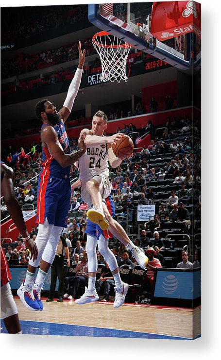 Playoffs Acrylic Print featuring the photograph Pat Connaughton by Brian Sevald