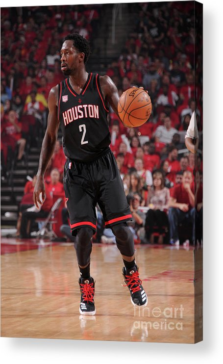 Playoffs Acrylic Print featuring the photograph Patrick Beverley by Bill Baptist