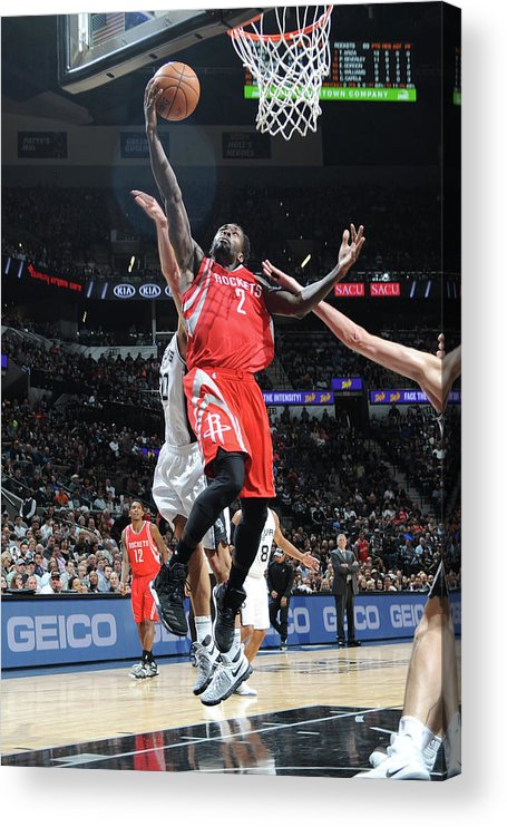 Nba Pro Basketball Acrylic Print featuring the photograph Patrick Beverley by Mark Sobhani