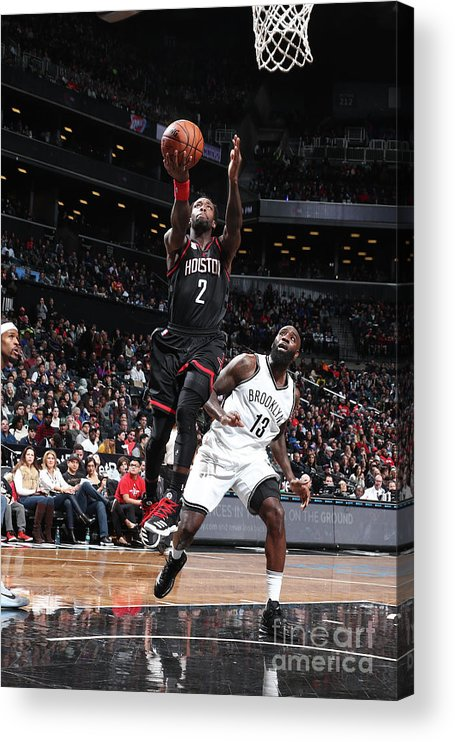 Nba Pro Basketball Acrylic Print featuring the photograph Patrick Beverley by Nathaniel S. Butler