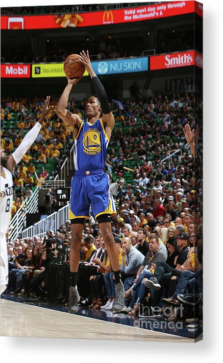 Playoffs Acrylic Print featuring the photograph Patrick Mccaw by Melissa Majchrzak