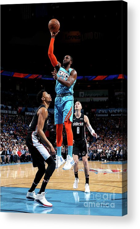 Patrick Patterson Acrylic Print featuring the photograph Patrick Patterson by Zach Beeker
