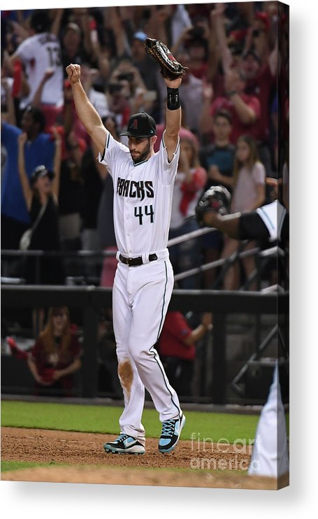 Playoffs Acrylic Print featuring the photograph Paul Goldschmidt by Norm Hall